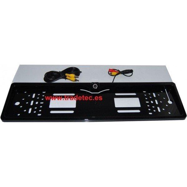 Number plate reversing camera