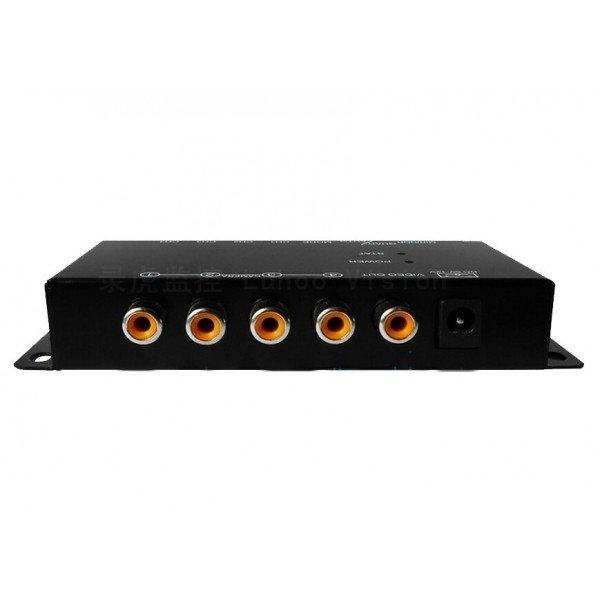 Splitter box 4 cameras control REF: TR986