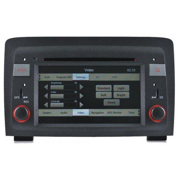 Radio GPS head unit Fiat Croma Android 10 TR1521