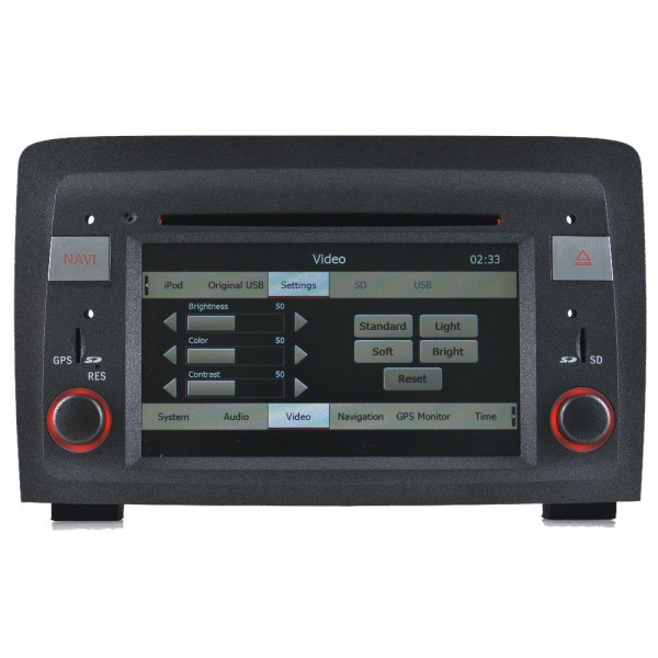 Radio navegador GPS Fiat Croma Android 10 TR1521