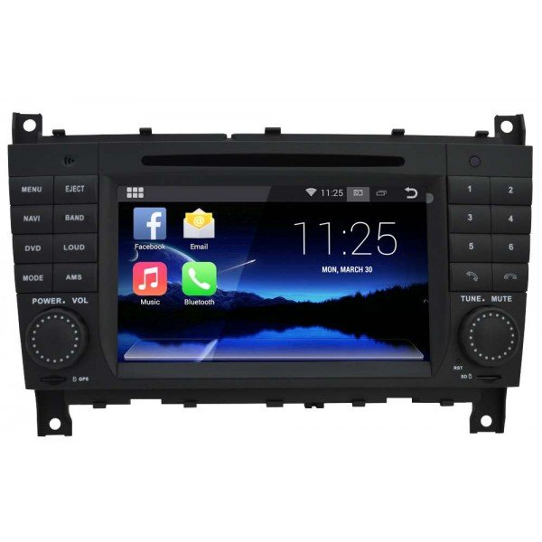 Radio DVD GPS ANDROID QUAD CORE Mercedes Benz CLK / G / CLS REF: TR3048