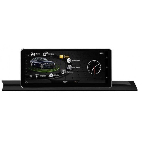"Radio monitor 10,25"" GPS HD Audi A4 B9 ANDROID REF: TR2843"