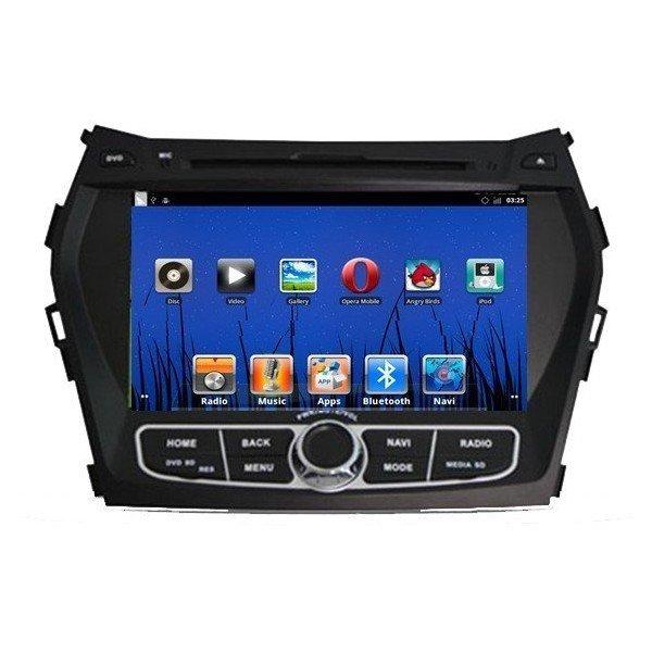 Radio DVD GPS Hyundai IX45 Android PURO REF: TR1534