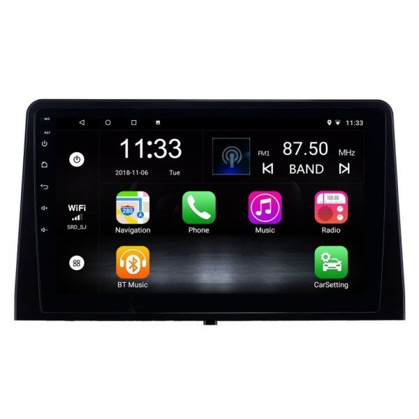 Radio navegador GPS Peugeot Rifter Android 10 TR3660