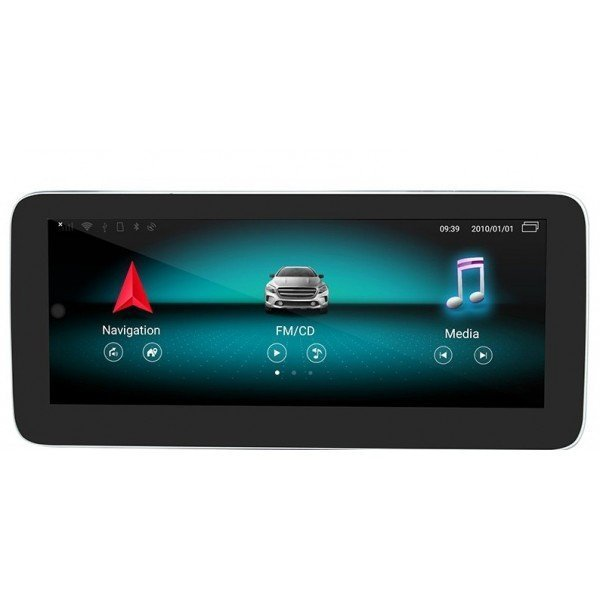 """Pantalla 12.3"""" GPS Mercedes Benz CLS W218 8GB RAM Android 10 4G LTE TR3666"""