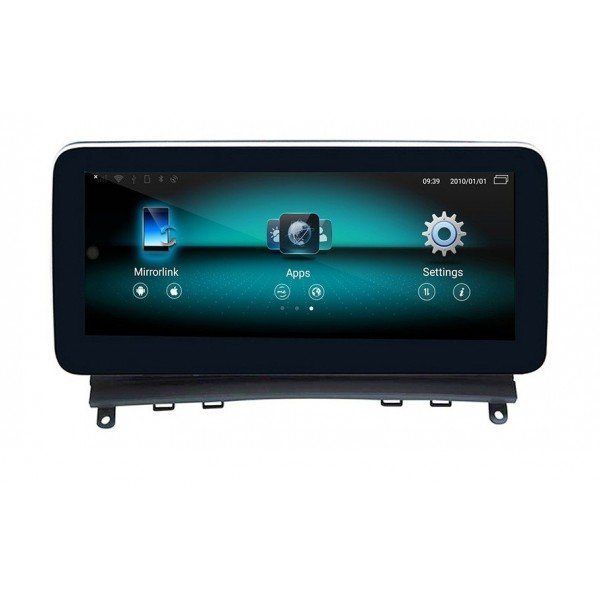 """Pantalla 10.25"""" GPS Mercedes Benz Clase C W204 8GB RAM Android 4G LTE TR3602"""