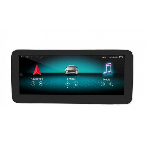 """Pantalla 10.25"""" GPS Mercedes Benz Clase C W205 & GLC X253 & Clase V W446 8GB RAM Android 4G TR3603"""