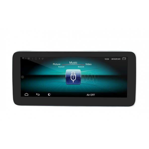 """Monitor 10.25"""" GPS Benz A Class / CLA / GLA 8GB RAM Android 4G TR3606"""