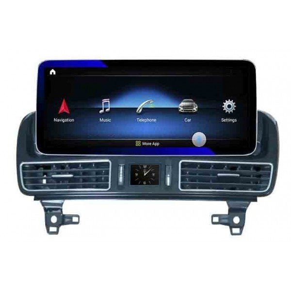 """Pantalla 12,3"""" GPS MERCEDES GLE & GLS 4G LTE Android 10 TR3538"""