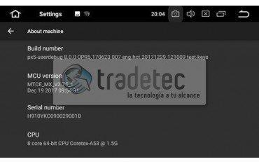 GPS Android 10 OCTA CORE 4GB RAM Mercedes SLK R171