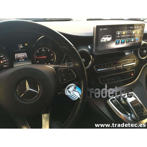 Monitor 10,25 GPS 4G LTE MERCEDES CLASE V ANDROID TR3140 Carplay AndroidAuto