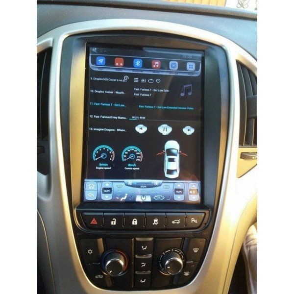 TESLA Opel Astra J android