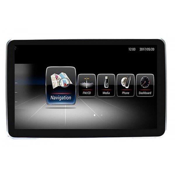 """Monitor 9"""" GPS MERCEDES ML / GL / GLS ANDROID 10 4G LTE TR3109"""
