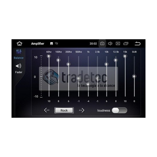Radio GPS head unit Peugeot 607 Android 10 TR3671