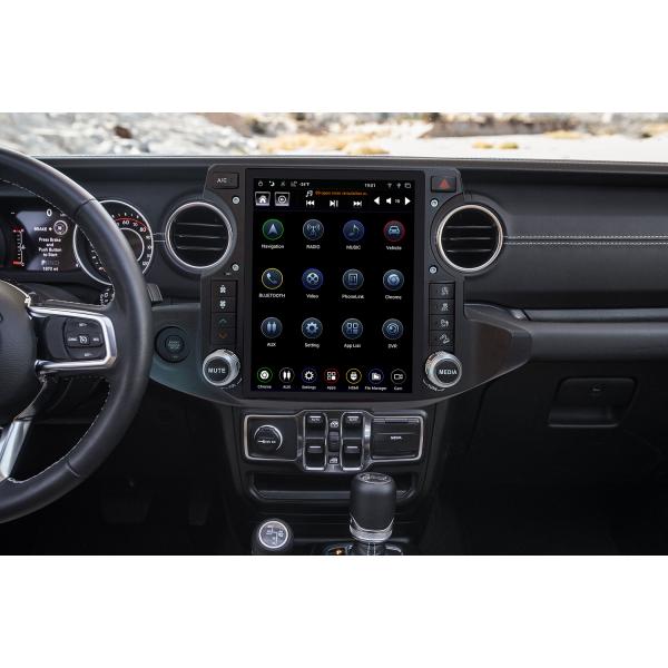 Radio GPS head unit Tesla style Jeep Wrangler ANDROID TR3674