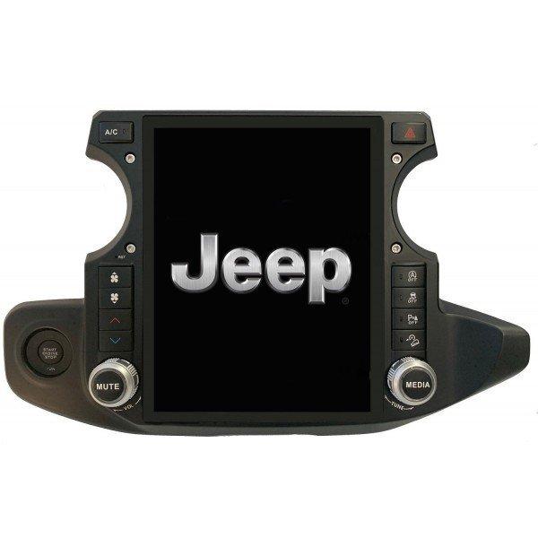 Radio navegador GPS tipo TESLA Jeep Wrangler ANDROID TR3673