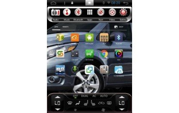 ford mustang gps tesla style 64gb