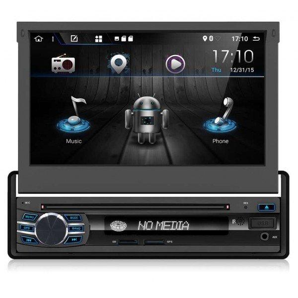 Radio DVD Android 1 DIN táctil