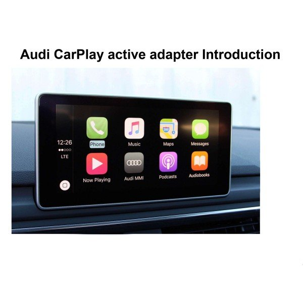 Carplay and Android Auto for Audi REF: TR3145