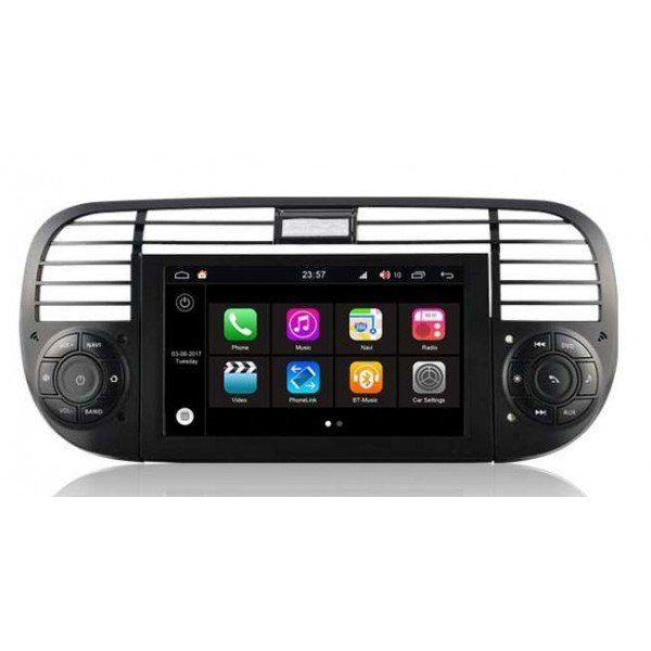 fiat 500 s200 android gps tradetec