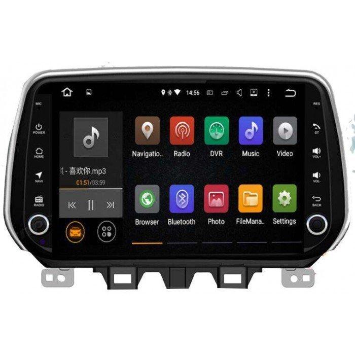 Radio DVD GPS Hyundai Tucson 2018 2019 TR3149 la mejor pantalla Android gps para Hyundai Tucson 2018 2019 tradetec