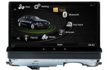 GPS Android 10 Audi A3 8V 4G LTE motorized screen TR3152