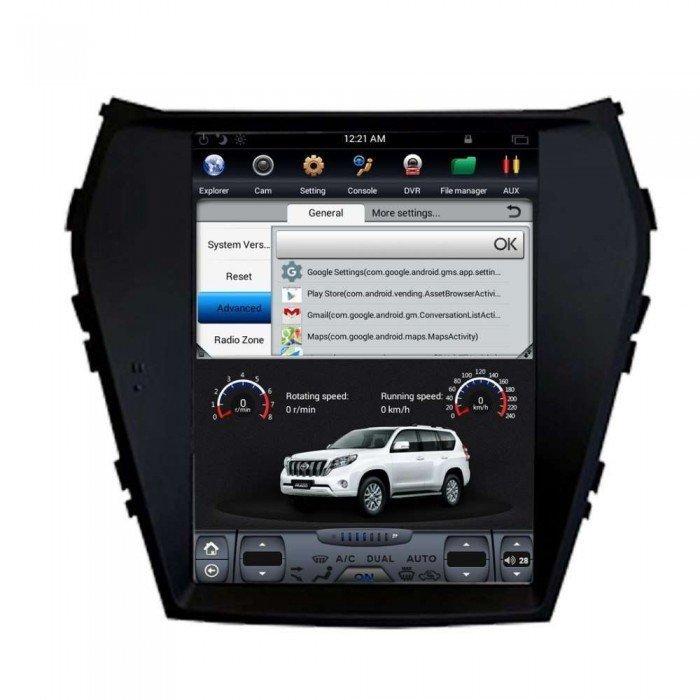 Radio Gps Android Tesla Style Hyundai Santa Fe Ix45 Tr3155
