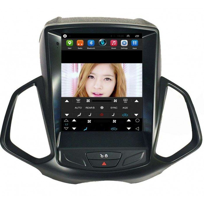 ford ecosport gps tesla style android