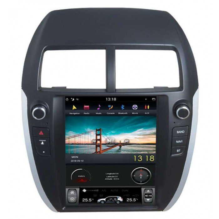 Mitsubishi-ASX-18-Android-Full-Touch-Tesla-Style