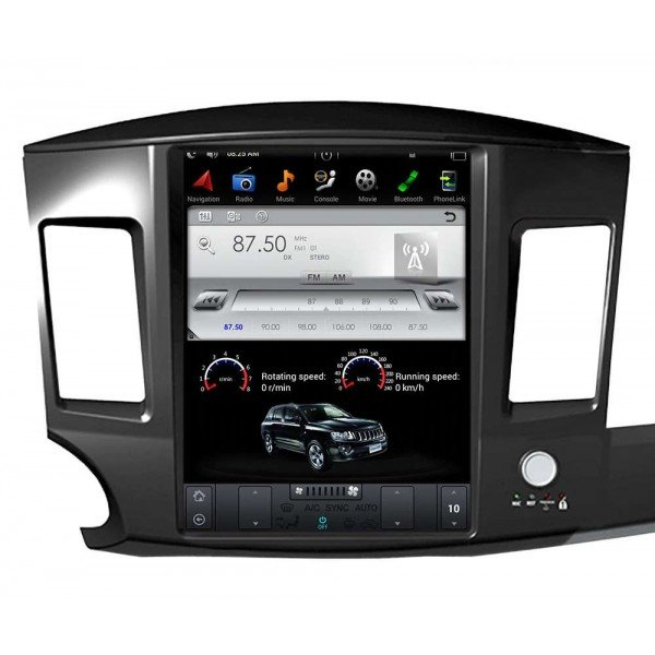 Radio DVD GPS ANDROID TESLA STYLE Mitsubishi asx Tradetec