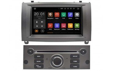 """Radio monitor 7"""" GPS HD Peugeot 407 ANDROID REF: TR3160"""