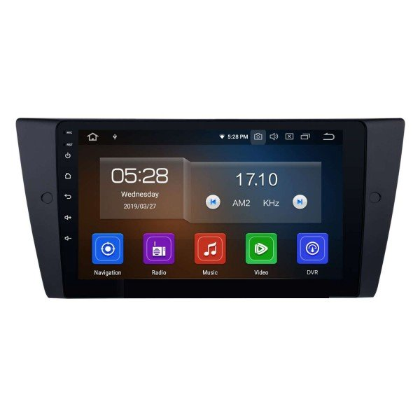 Radio DVD GPS BMW Serie 3 E90 ANDROID 9.0 REF: TR3181