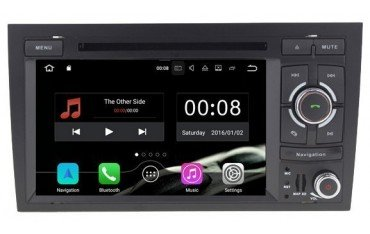 Radio navigation system with GPS for Audi A6 ANDROID TR3165
