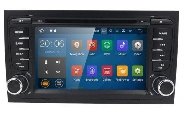 Radio navigation system with GPS for Audi A6 ANDROID TR3166