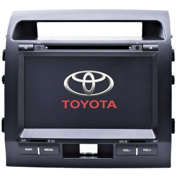 Radio DVD GPS HD QUAD CORE Toyota Land Cruiser Android