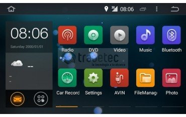 Radio DVD GPS 10.1 QUAD CORE Toyota Land Cruiser Android