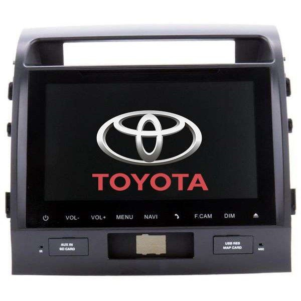 Radio DVD GPS 10.1 QUAD CORE Toyota Land Cruiser Android