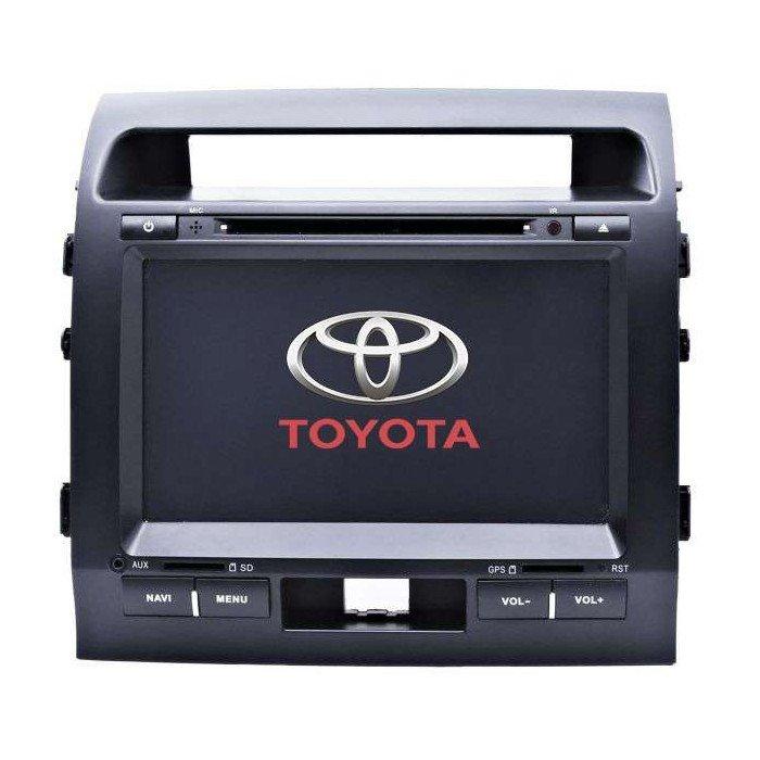 Radio DVD GPS HD octa CORE Toyota Land Cruiser Android