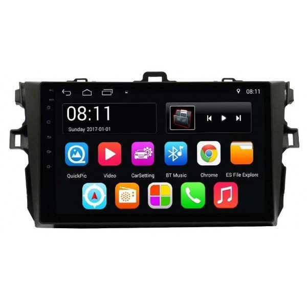 GPS Android 9,0 OCTA CORE 4GB RAM TOYOTA COROLLA