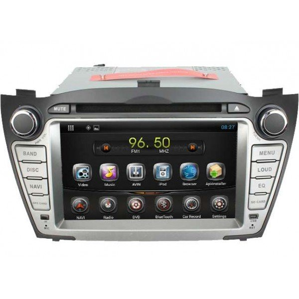 head unit hyundai tucson