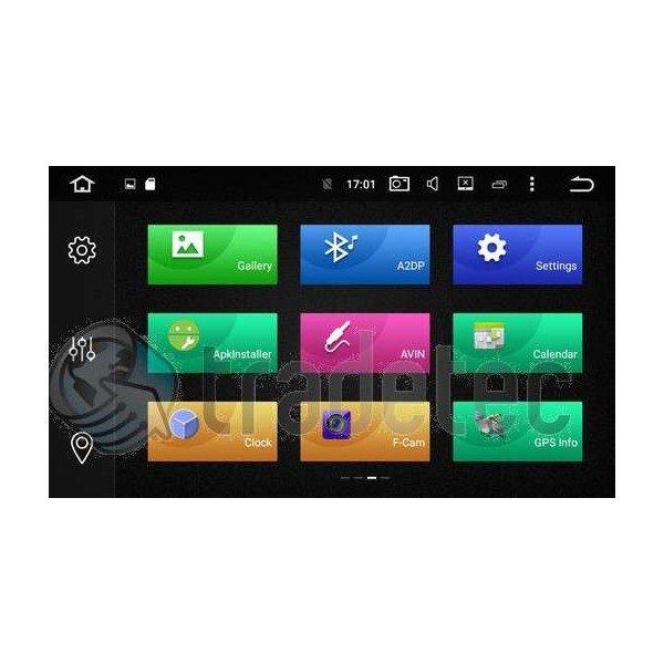 GPS Android 8,1 QUAD CORE 2GB RAM Mercedes ML / GL REF:TR3049