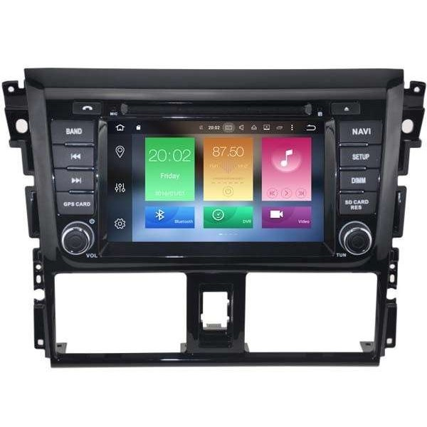 Radio GPS Toyota yaris ANDROID 9.1  TR3192