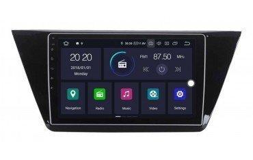 Radio GPS Volkswagen Touran 2016 ANDROID 8.1 REF: TR3196