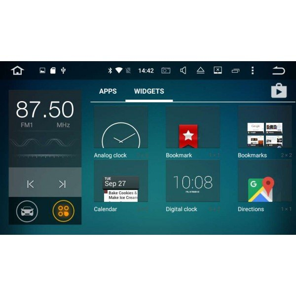 GPS QUAD CORE Mercedes Benz ANDROID