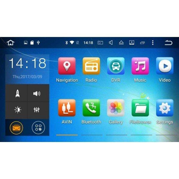 radio pantalla Android Golf 7