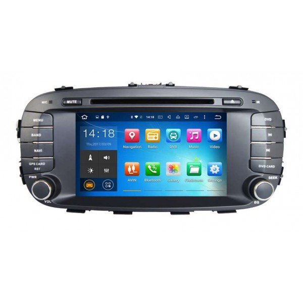 Kia Soul head unit