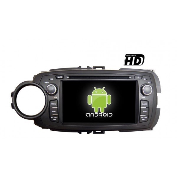 Radio DVD GPS HD Yaris PURE ANDROID REF: TR1900