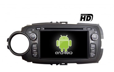 Radio head monitor GPS Toyota Yaris 3 ANDROID TR1900
