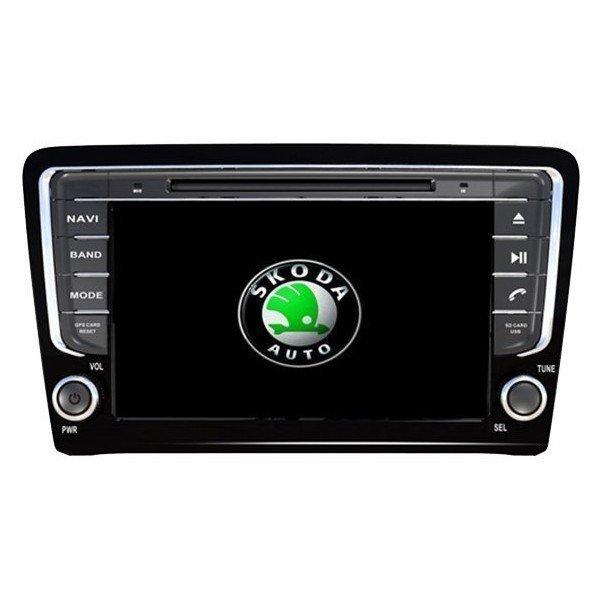Radio DVD GPS Android 8 Skoda Octavia / Superb REF: TR1556