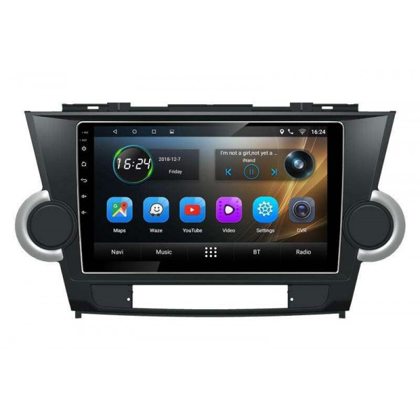 GPS head unit Toyota Highlander